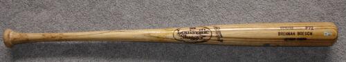 Brennan Boesch Detroit Tigers P72 Game Used Bat MLB Hologram Authentication