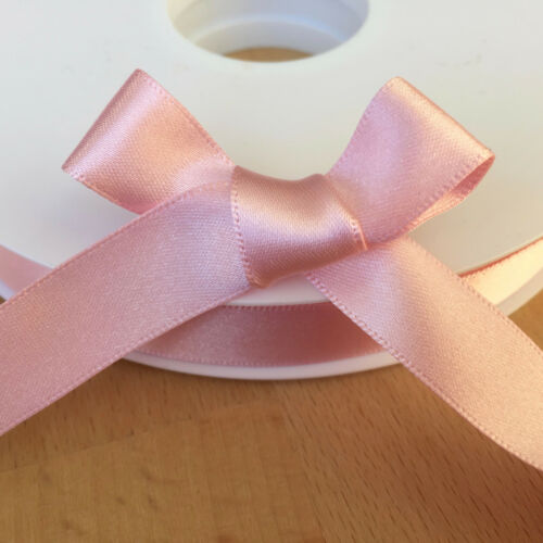 7mm 10mm /& 15mm 35 colours Berisfords Double faced satin ribbon 3mm