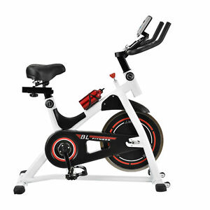 in-tec-Heimtrainer-Fahrrad-Fitness-Bike-Trimmrad-Indoor-Cycling-Rad-Sattel