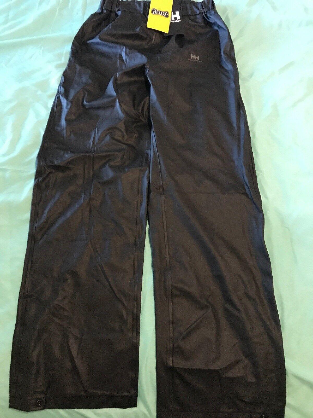 Helly Hansen Helox+  Rainwear Voss Pant Women Small  TS8  free shipping on all orders