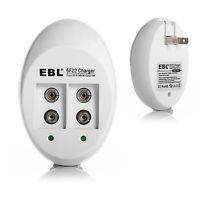Ebl Universal 9v Li-ion Charger For 9 Volt Ni-cd Ni-mh Rechargeable Battery