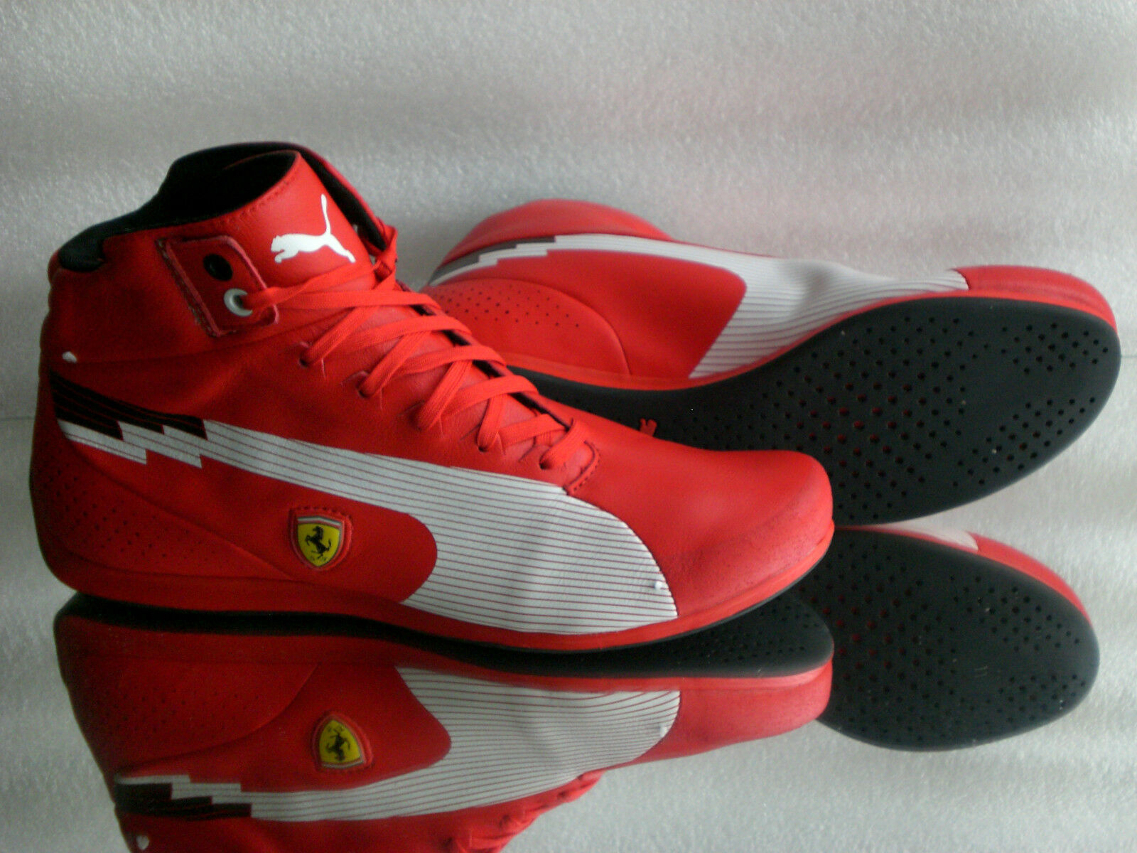 Original Puma Ferrari Gr: Speed Mid Men Sneaker TurnLaufschuh Stiefel Gr: Ferrari 39-42 +Bag be8a4f