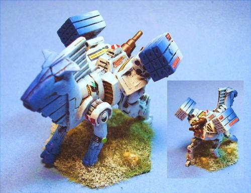 Battletech Pintado Balius battlemech Csr