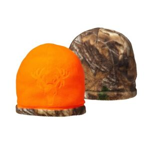 Details about Realtree Camo Blaze Orange Reversible Stocking Cap Hat Hunting  Beanie - Hot Shot 2815f6ffc1e