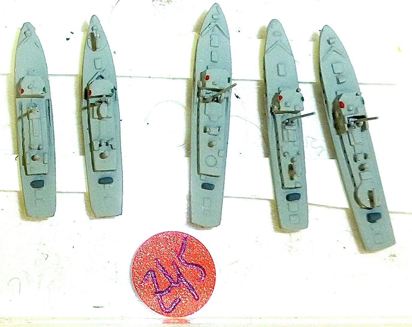 5 pcs R1M R2KM r3km r8km R9KM Ship Model 1 1250 shpz45 Å
