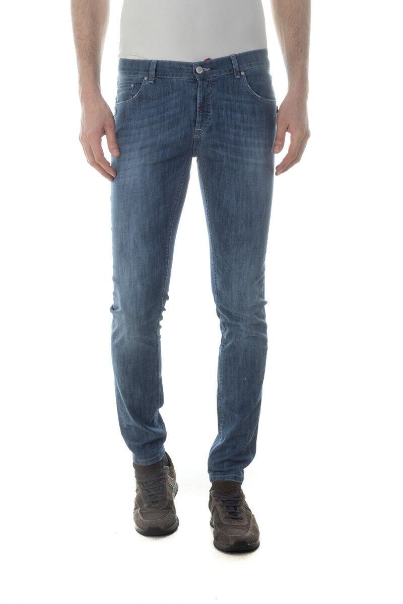 Jeans Daniele Alessandrini Jeans Cotone men Denim PJ4610L7203631