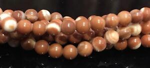 4mm-Red-Malachite-Round-Gemstone-Beads-15-5-034-Strand-UK-EBAYER