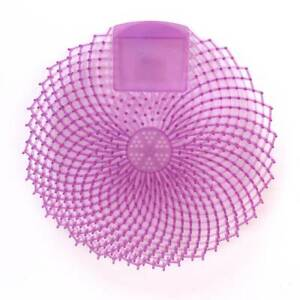 Impact-149236-Eclipse-Light-Purple-Urinal-Screen-with-Berry-Fusion-Fragrance