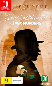 Agatha Christie The ABC Murders Switch Game NEW