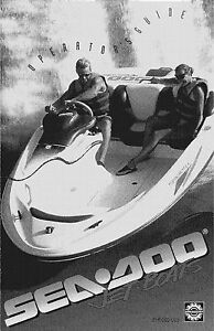 sea doo speedster 1995 owners manual paperback free shipping ebay rh ebay com 1995 Seadoo Speedster Storage 1995 Seadoo Bombardier