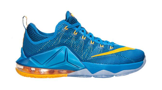 Nike LeBron 12 XII Low Entourage Photo Blue Size 14. 724577-484 kyrie bhm cavs