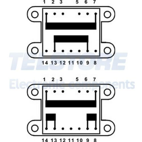 1pcs TSZZ16//2X15V Trasformatore incapsulato 20VA 230VAC 15V 15V 0,66A 0,66A INDE