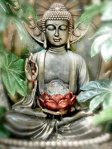 Full-drill-Diamond-Painting-Religion-Buddha-Lotus-Flower-Fashion-Handicraft-7192
