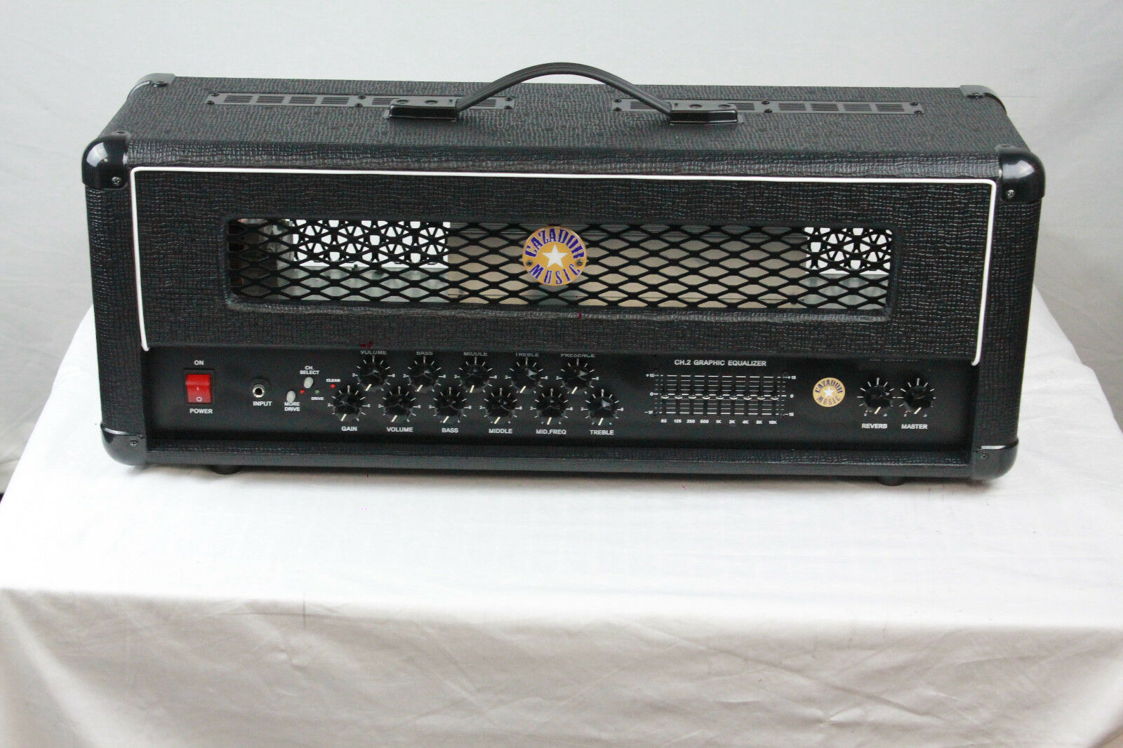 BEST CLASSIC STAGE PERFORMER 200W GUITAR AMPLIFIER AMP HEAD SOLID STAT