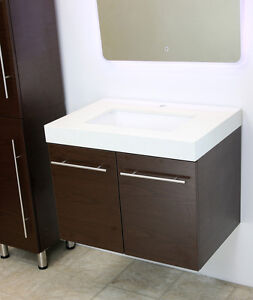 36 vanity with sink. Image Is Loading WindBay-36-034-wall-mount-floating-bathroom-vanity- 36 Vanity With Sink