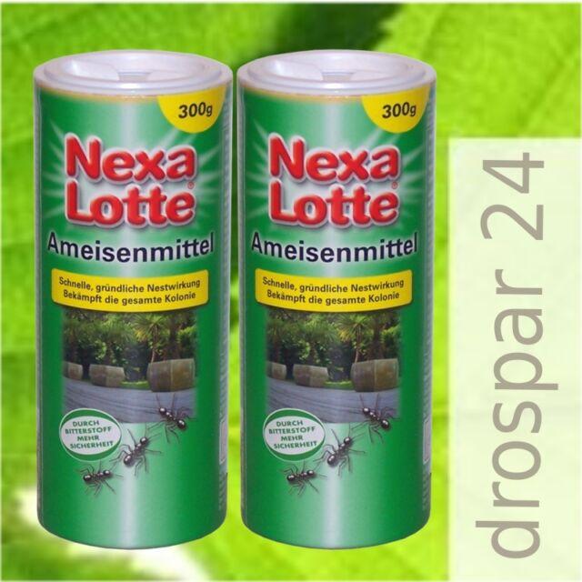 (24,35€/kg) Nexa Lotte Ameisenmittel Ameisen- Streu- Gießmittel 2x300g