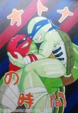 Teenage Mutant Ninja Turtles yaoi doujinshi RxL Primary Kingdom TMNT (A5 96pages