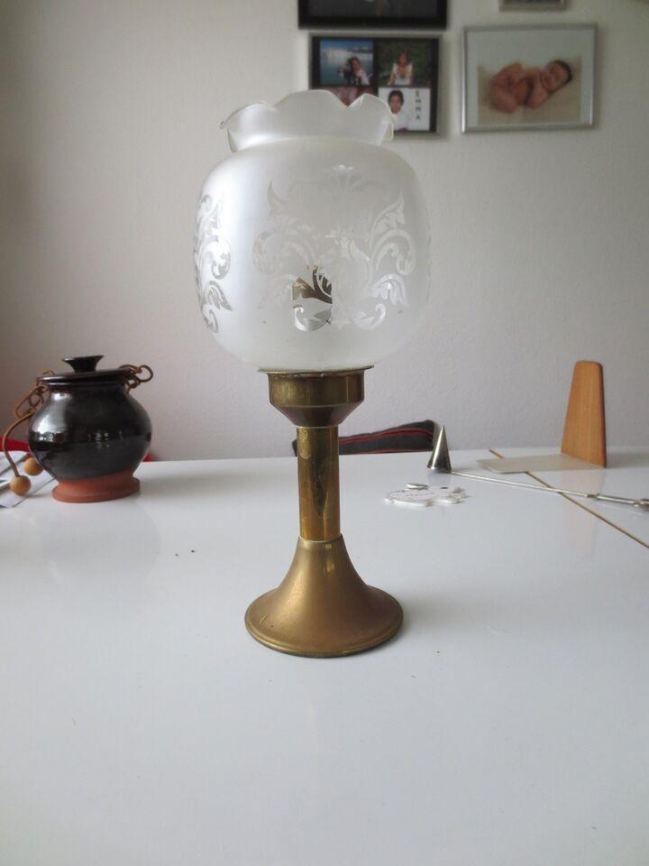 Fin Glas, lampe, gammel – dba.dk – Køb og Salg af Nyt og Brugt TX-67