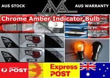 Chrome Amber 501 Side indicator Bulbs FORD Focus mk1 mk2 mk3 ghia rs ghia ESTATE