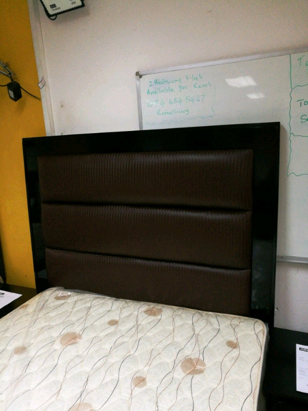 Brand new bed and headboard combo for sale