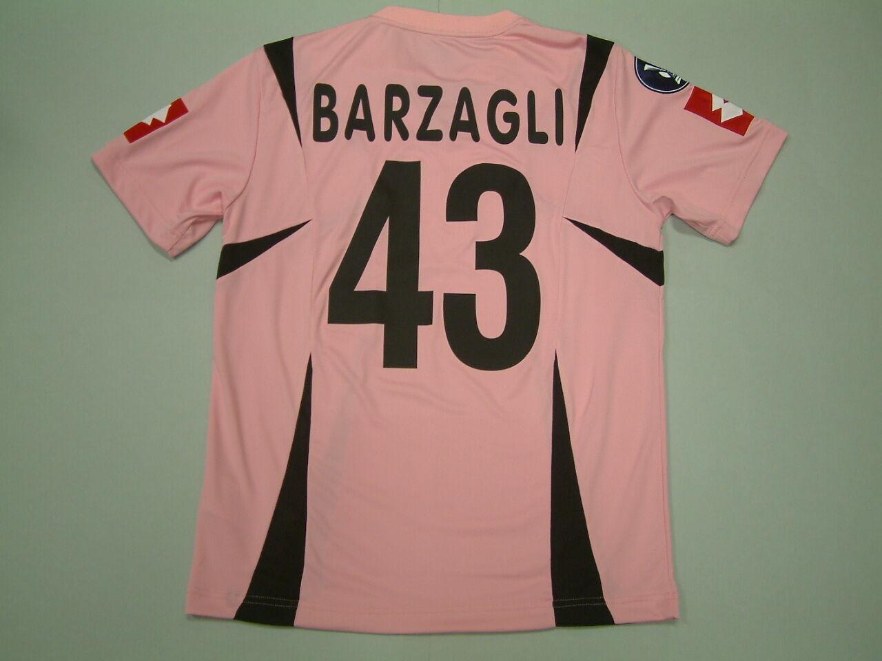 Barzagli Palermo Home match emitido mc-ss 2006-2007 Copa UEFA