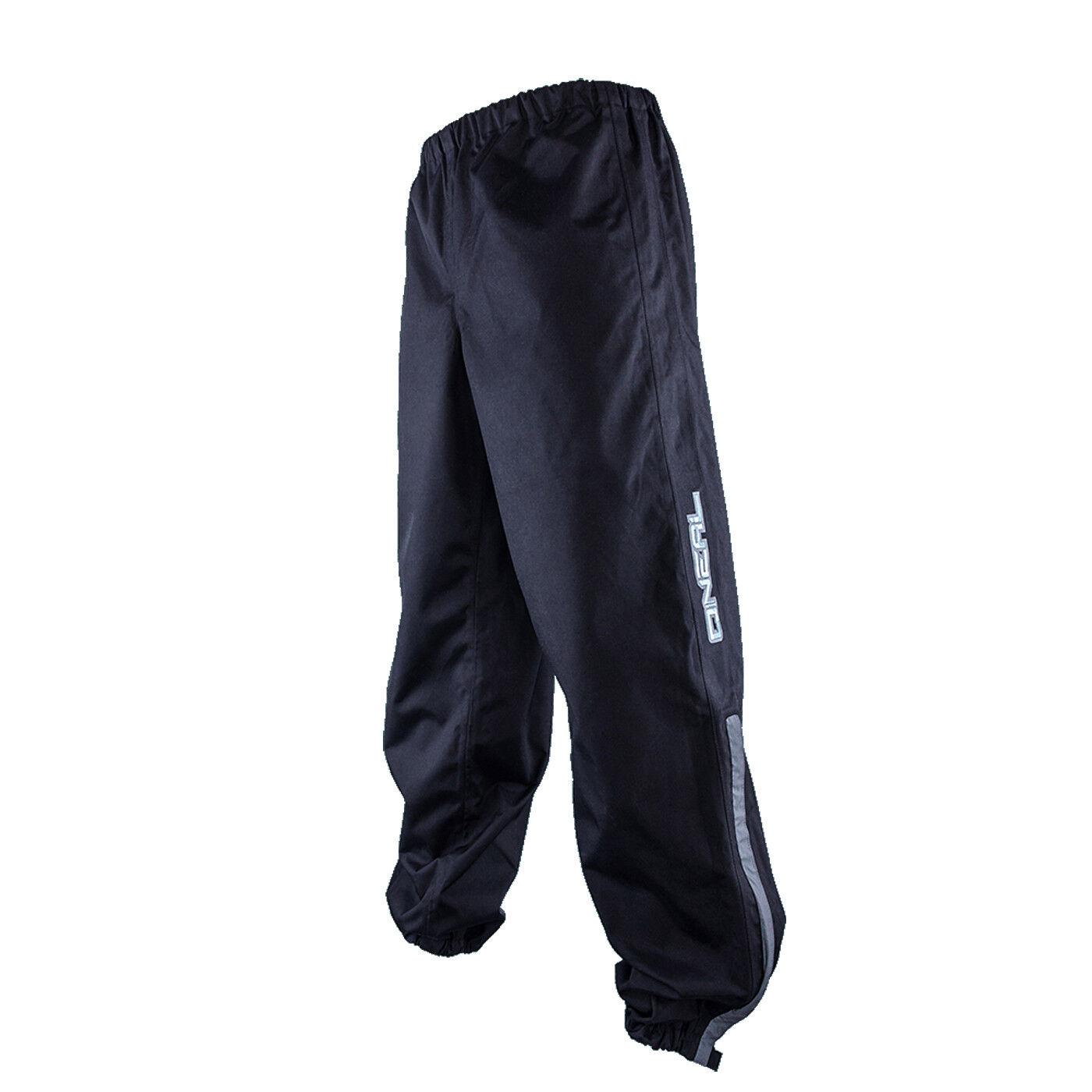 O 'Neal Shore II RAIN Pioggia Bicicletta Pantaloni Short Corto Nero 2019 ONEAL