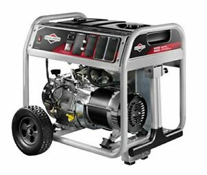 Briggs & Stratton 30681 Portable Generator, 6250 Starting Watts 5000 Running Wat