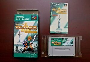 Super-Famicom-SFC-The-Legend-of-Zelda-A-Link-to-the-Past-boxed-JP-game-US-Seller