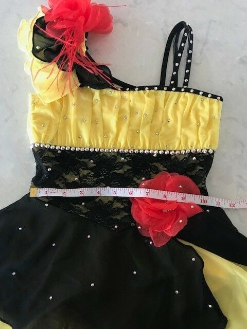 Figure skating competition  dress  ld size Small  factory direct sales