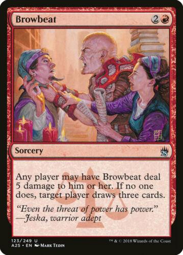 Browbeat Masters 25 Uncommon EN NM MTG