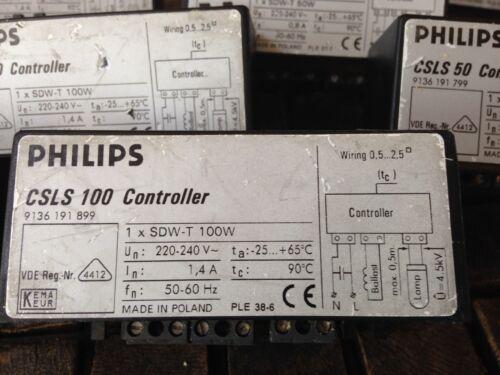Philips Expert 50 /& 100 Contrôleur pour ballast 10 pcs au total