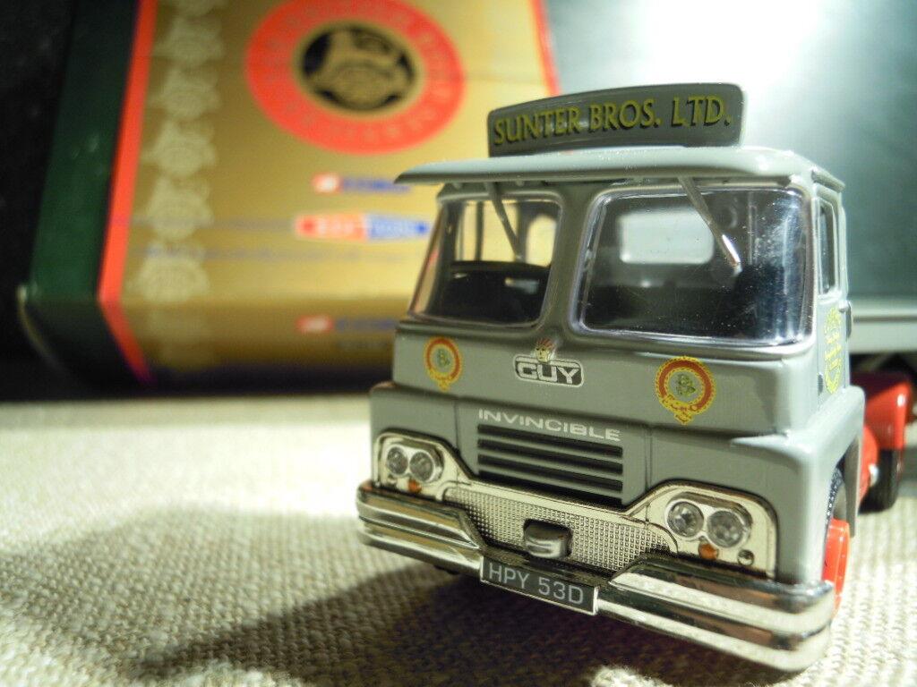 Corgi CC11503  AEC Mandator Plattbed Tjärnväger, grå, Metallmodellllerl 1  50, NEU & OVP