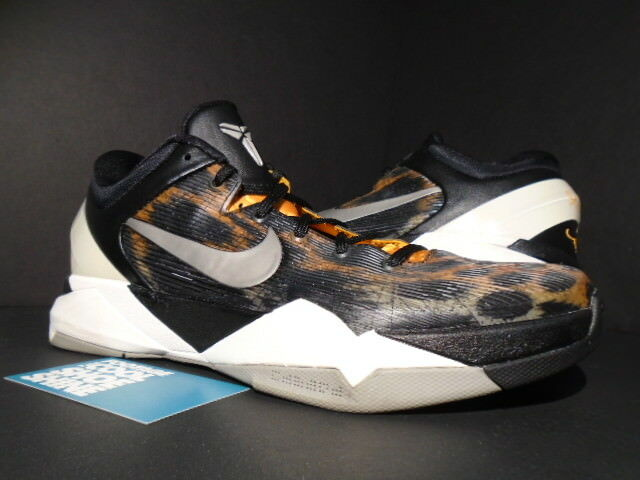 the latest 7e0eb 44ca3 ... germany nike zoom kobe vii 7 system cheetah kühle graue orange 488371  800 schwarz weiße 488371