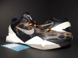 newest collection 3ea21 bb946 Image is loading Nike-Zoom-KOBE-VII-7-SYSTEM-CHEETAH-COOL-