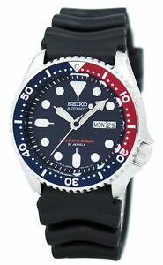 Seiko Automatic DIVERS SKX009J1 Men's Watch + Worldwide Warranty*3