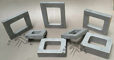 "ALUMINUM MOLD FRAME SINGLE CAVITY VULCANIZER RUBBER SIZE 3-3//8/"" x 4-3//8/"" CASTING"