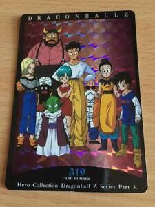Carte-Dragon-Ball-Z-DBZ-Hero-Collection-Part-3-319-Prisme-1995-MADE-IN-JAPAN