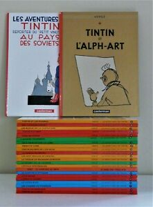TINTIN-034-LES-AVENTURES-DE-TINTIN-034-THE-COMPLETE-COLLECTION-24-VOLUMES