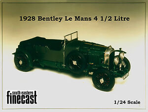 4.5 litre Bentley model kit - white metal scale model to assemble and paint