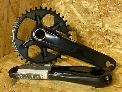 Shimano Deore XT FC-M8100-1 172mm Q-Factor 12-Speed 170mm 36T MTB Crankset