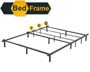 Platform-Bed-Frame-Queen-Mattress-Foundation-Metal-Base-Heavy-Duty