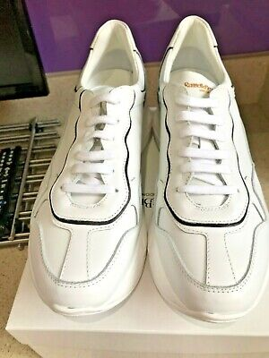 Ladies Russell \u0026 Bromley White Trainers