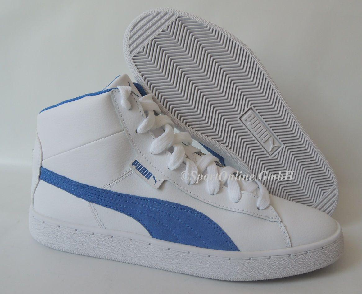 NEU Puma 48 Mid L Men Größe 44 Leder Schuhe Boots Sneaker 356733-05