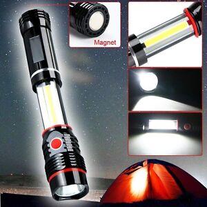 COB-300LM-LED-Magnetic-END-Work-Light-Inspection-Flashlight-Lamp-Pocket-Torch