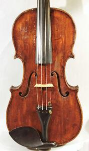 Antike Geige Vogtland Stempel Verm. Hoyer - Fine Antique Saxon Violin Branded Um Sowohl Die QualitäT Der ZäHigkeit Als Auch Der HäRte Zu Haben