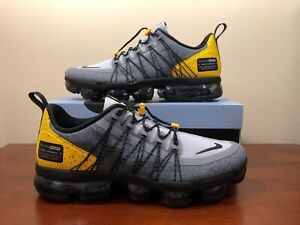d0be8cf753f Nike Air Vapormax Run Utility Size 10.5 Wolf Grey black Yellow ...