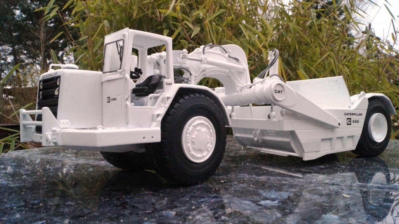 Cat 631d traillas blanco negro Consejo Consejo Consejo Model Scale 1 50  el estilo clásico