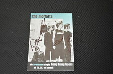 THE MOFFATTS signed Autogramm 10x15 cm In Person komplette Band