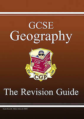 """AS NEW"" GCSE Geography Revision Guide (Revision Guides), CGP Books, Book"