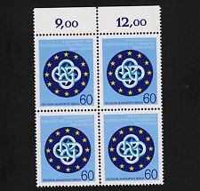 1984 germany Berlin Sc#9N493 Mi#721 Numeral Margin Block of 4 MNH